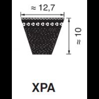 KIILAHIHNA PROFIILI XPA (KORKEUS 10MM LEVEYS 12,7MM)